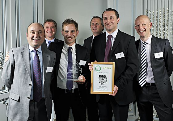 ERT team receive the award in the professional category, 2012