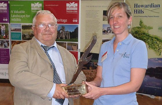 Ruth Snelson receives Bowland Award