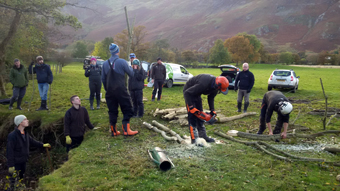 wild trout trust workshop derwent cumbria