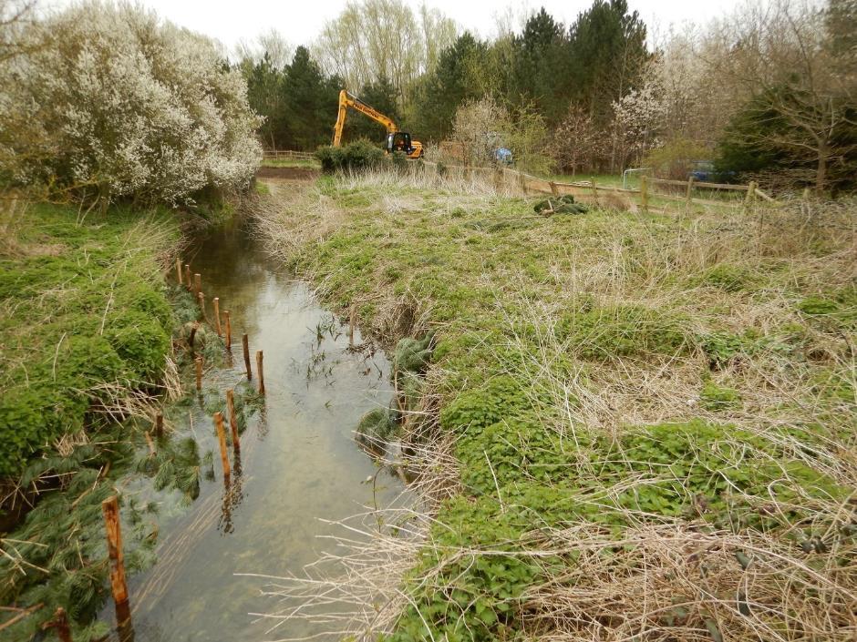 Good for the Granta - river habitat project in Cambridgeshire