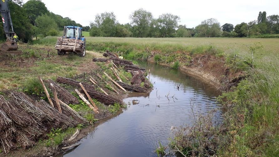 Restoring the Great Ouse at Rectory Farm, upstream of Buckingham