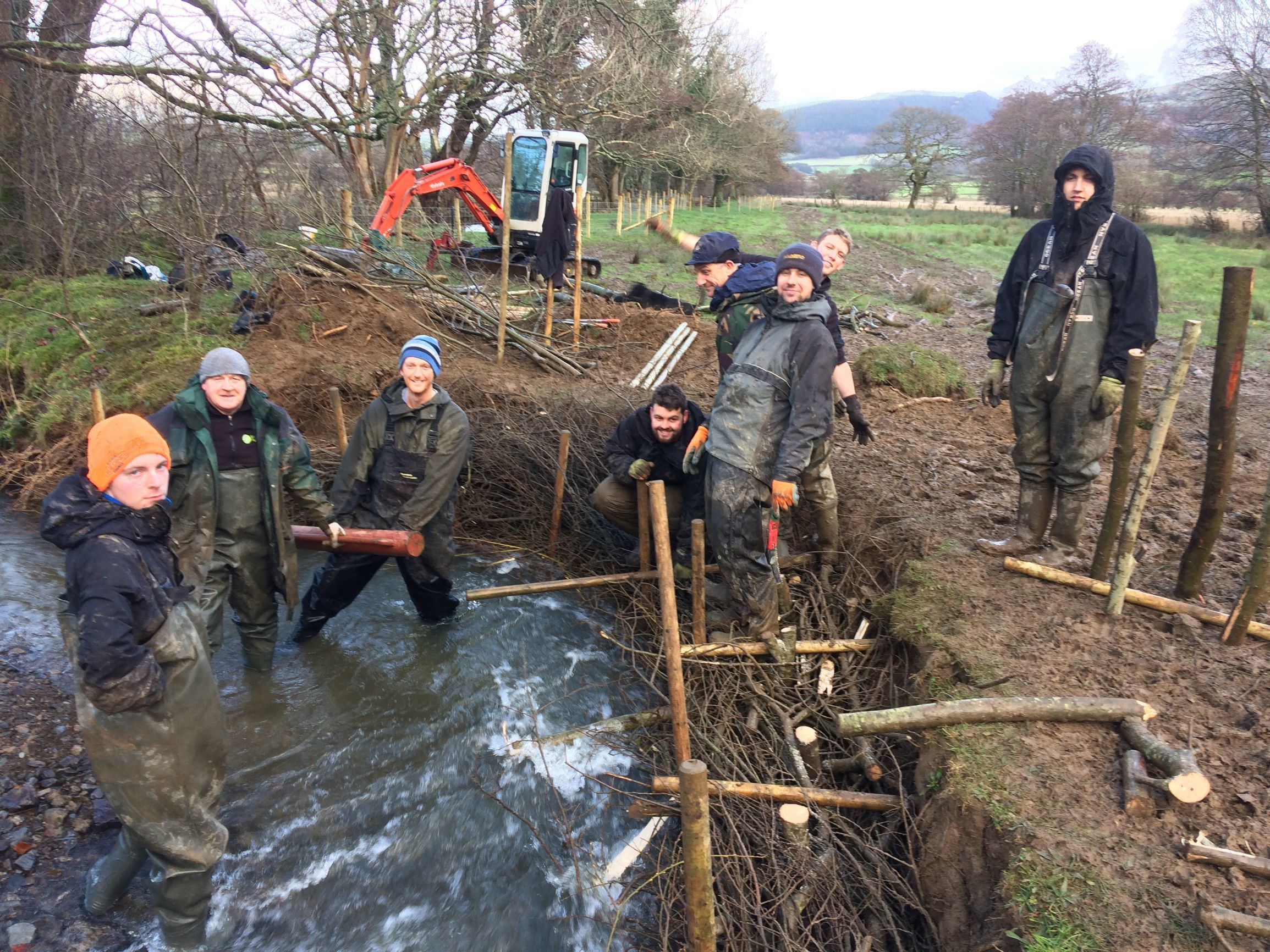 River Derwent (Cumbria) Catchment Wide Habitat Improvement