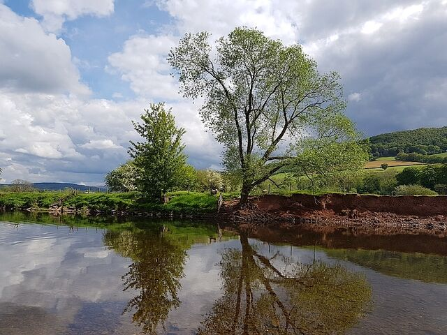 Two fences on the usk May 2019 gareth comp