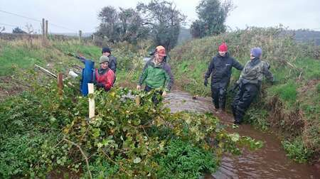 River Avill Volunteers 1 Comp