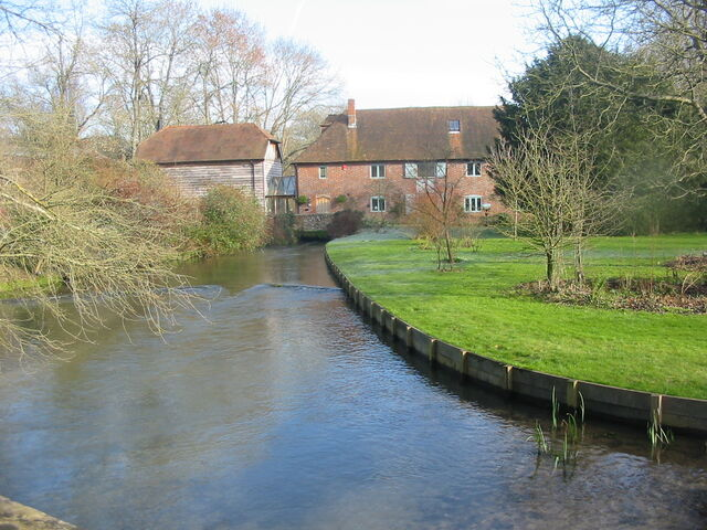 River Itchen At Kings Worthy 025